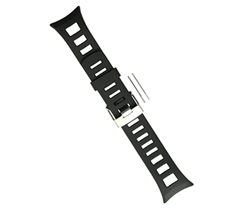 Original Suunto Quest Black Watchband Strap Kit (SS018489000)