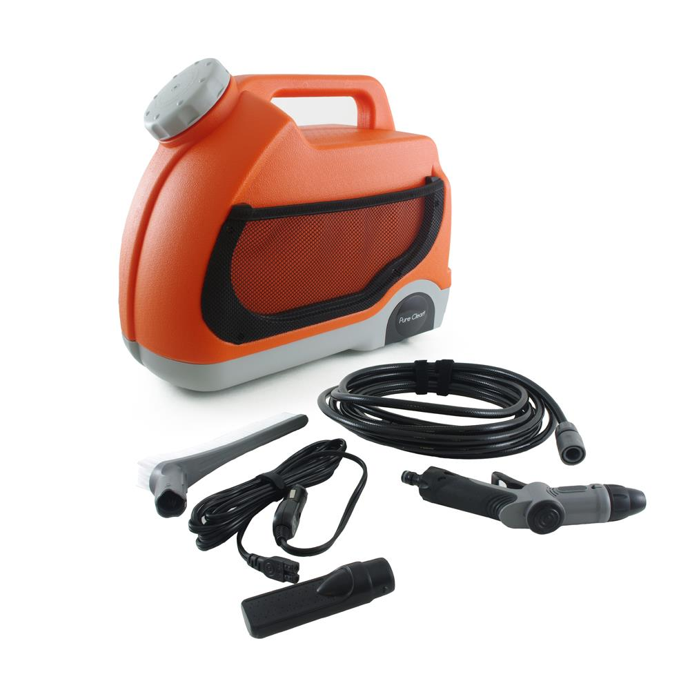 Pure Clean Portable Spray Pressure Washer For Travel/Outdoor Cleaning