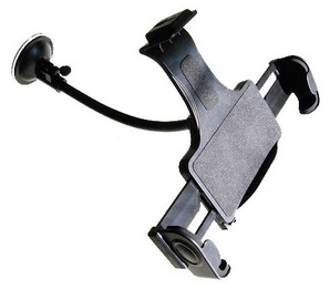 "10"" Long Windshield Mount for Eee PC 900, Dell Inspiron Mini 9"