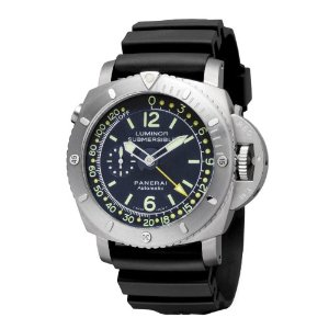 Panerai Men's PAM00307 Luminor 1950 Pangea Submersible Depth Gau