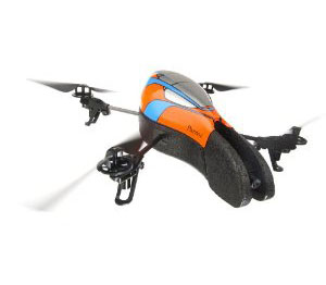 Parrot AR.Drone Quadricopter Controlled by iPod touch, iPhone, i