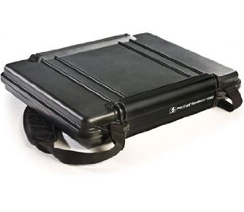 Pelican 1090 HardBack Notebook Carrying Case with Foam (Black)