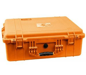 Pelican 1600 Case with Foam for Camera (Orange)