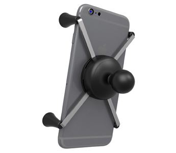 "RAM Universal X-Grip® IV Large Phone/Phablet Holder with 1"" Ball (RAM-HOL-UN10BU)"