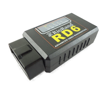 RioRand Wireless WIFI OBD 2 Car Diagnostic Reader Scanner for Iphone