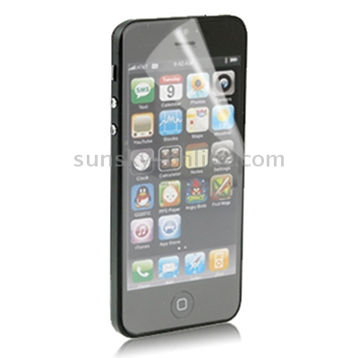 Anti Glare LCD Screen Protector for iPhone 5 (Taiwan Materials)