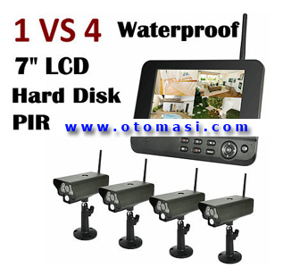 2.4G 4ch Digital Wireless Security Camera DVR (S8104)