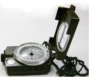 SE Military Lensatic Compass w/ Pouch
