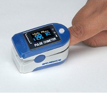 SFO Medical RMO Finger Pulse Oximeter. SpO2 (Oxygen Saturation Level)