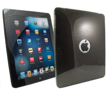 Arkon Tablet Accessory - Protective TPU Skin for iPad (Smoke)