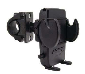 Arkon Mega Grip Mount - Bicycle Handlebar Mount (GN032-SBH + AP2TSTRAP + SM040-2)