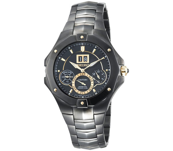 Seiko SNP017 Coutura Kinetic Perpetual Watch