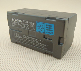 Sokkia Style Battery BDC70 For Topcon ES/CX Sokkia FX SET-X series Total Station