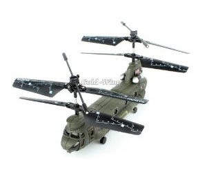 Syma 16.5CM S026G 3.5Ch 3 Channel Mini Chinook RC Helicopter Gyr