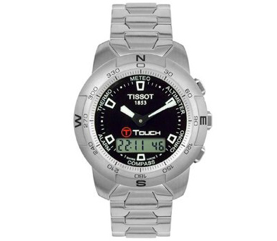 Tissot Men's T33158851 T-Touch Stainless Steel Watch