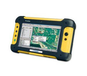 "TDS Trimble Yuma Waterproof Rugged Tablet Handheld PC, 7"" Displa"