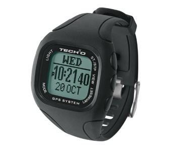 Tech4o Discover GPS Running Watch with Heart Rate, Digital Compass & PC Upload