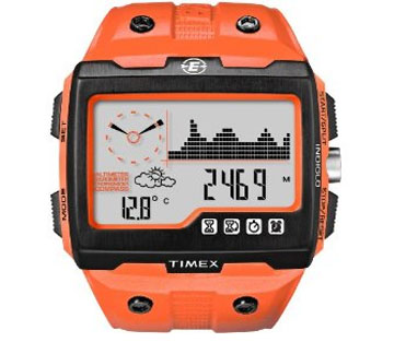 Timex Expedition WS4 Widescreen 4-Function Watch (Orange/Black)