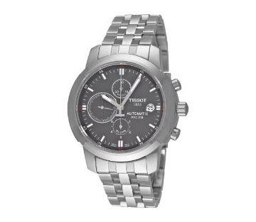 Tissot T0144271108100 PRC200 Automatic Grey Chronograph Dial
