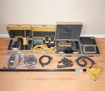 Topcon Dual Machine Control 3D & 2D GPS Glonass Motorgrader Laser Receiver UHF (Used)