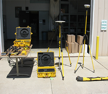 Trimble MS750 GPS Base Rover, TSC2 w/Survey Controller Software (Used)