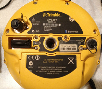 Trimble SPS-881 Rover RTK GNSS GPS SYS w/ TSC2 w/ SCS Sftw, GSM IRadio! (Used)