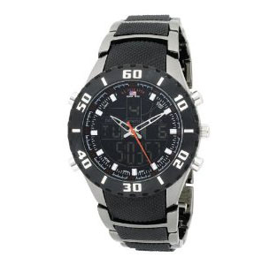 U.S. Polo Assn. Men's US8163EXL Analog-Digital Dial Extra Long G