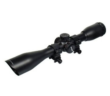 UTG 4x40 Full Size Mil-Dot RGB Zero Resetting Scope with Picatin