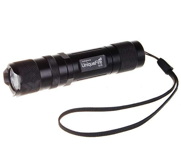 Uniquefire S10 Cree R2-WC 220-Lumen LED Flashlight - Black