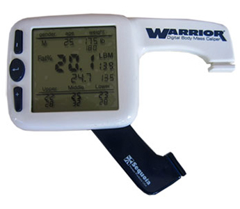 Warrior Digital Body Mass Body Fat Caliper System (New)