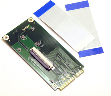 "1.8"" ZIF SSD Hard Disk Drive HDD to mini PCI-e Adapter for ASUS EEEPC 901 900A"
