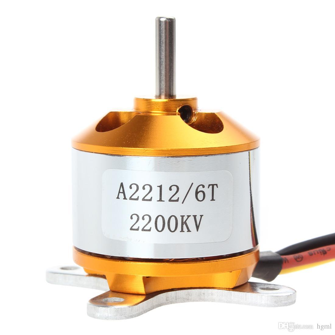 Brushless Outrunner Motor 2200KV for RC Quadcopter / Airplane / Aircraft