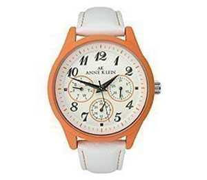 AK Anne Klein Leather Collection White Dial Women's Watch #9463O
