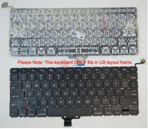 "Apple US English Keyboard for MacBook Pro 13"" Mid 2009"